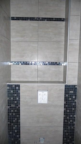 Toilette carrelage moderne - Carrelage toilette ...